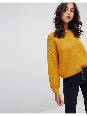 BOSS Casual sweater with bow back detail