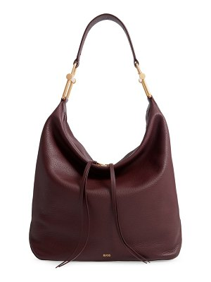 BOSS christy leather hobo