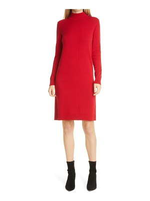 BOSS fabelletta long sleeve sweater dress