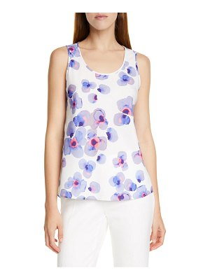 BOSS inolea floral tank top