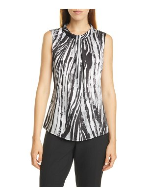 BOSS iyabo knotted neck top