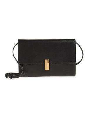BOSS nathalie leather crossbody bag