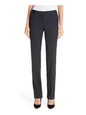 BOSS tariba wool trousers