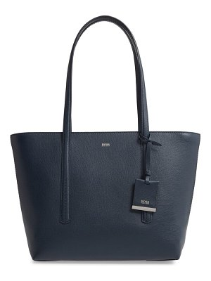 BOSS taylor small leather shopper