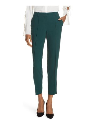 BOSS tinufa stretch wool slim leg trousers