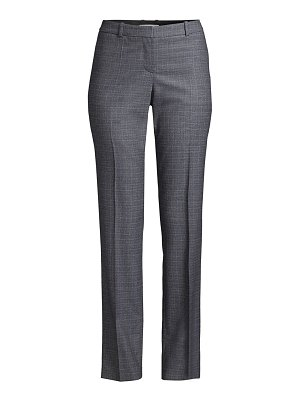 BOSS titana heathered super stretch virgin wool suiting trousers