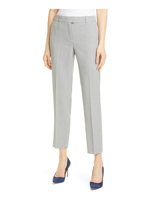 BOSS tobaluka 8 stretch wool ankle pants