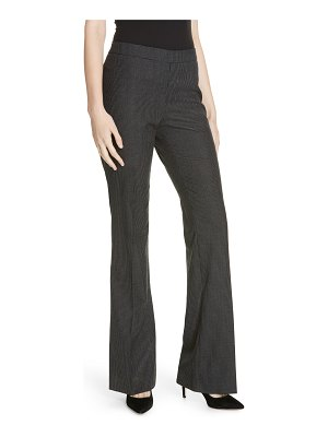 BOSS tulea side zip wool suit trousers