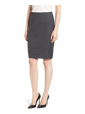 BOSS vibena wool suit skirt