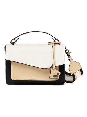 Botkier cobble hill colorblock leather crossbody bag