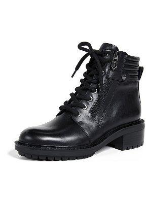 Botkier moto lace up boots