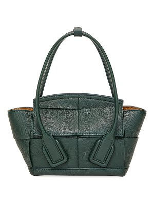 Bottega Veneta Arco 33 Mini Grainy Leather Top-Handle Bag