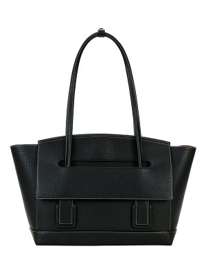 Bottega Veneta Arco 48 Palmellato Leather Top-Handle Bag