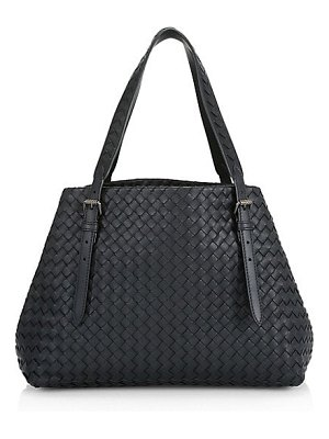 Bottega Veneta basket weave leather tote