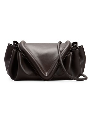 Bottega Veneta Beak V Flap Medium Shoulder Bag