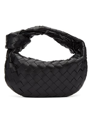 Bottega Veneta black mini intrecciato jodie bag