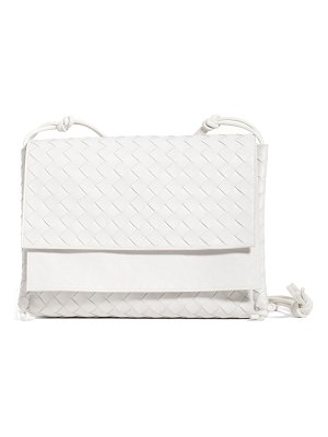 Bottega Veneta bottega venenta intrecciato medium flap crossbody bag