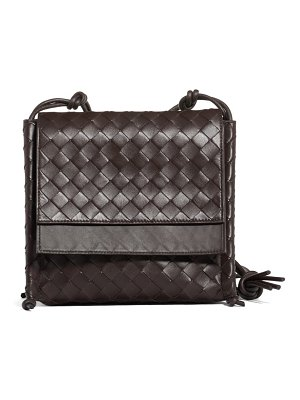 Bottega Veneta bottega venenta intrecciato small flap crossbody bag