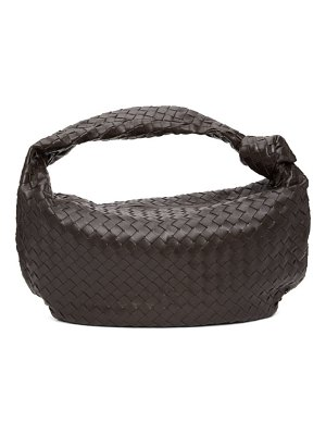 Bottega Veneta brown intrecciato the jodie bag