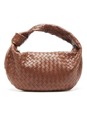 Bottega Veneta the jodie small intrecciato-leather shoulder bag