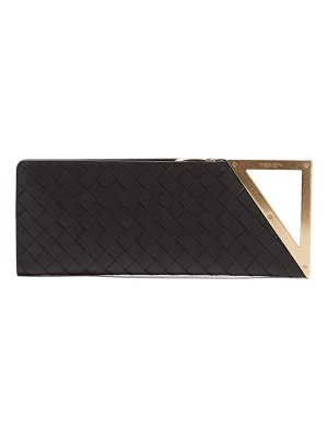 Bottega Veneta bv rim small intrecciato leather clutch