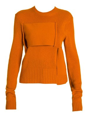 Bottega Veneta cashmere blend interwoven sweater