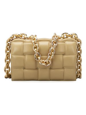Bottega Veneta Cassette Chain Shoulder Bag