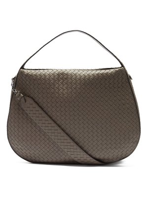 Bottega Veneta city veneta intrecciato leather shoulder bag