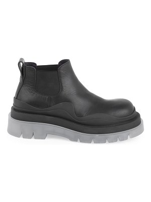 Bottega Veneta contrast leather chelsea boots