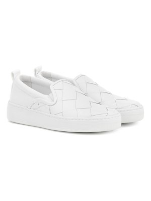 Bottega Veneta dodger leather slip-on sneakers