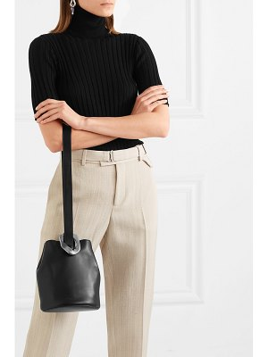 Bottega Veneta drop small embellished leather bucket bag