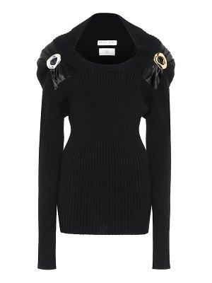 Bottega Veneta embellished stretch-wool sweater