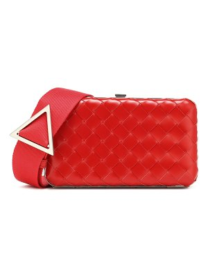 Bottega Veneta intrecciato small leather clutch