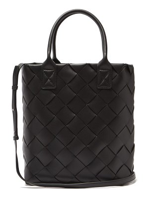 Bottega Veneta intrecciato woven leather tote