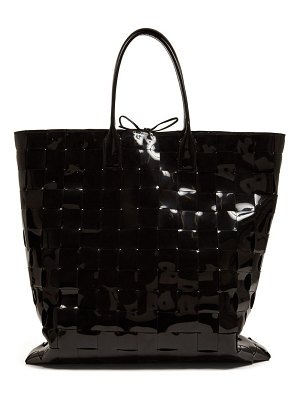 Bottega Veneta extra large intrecciato woven pvc tote bag