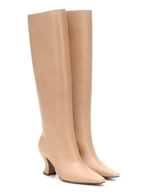 Bottega Veneta leather knee-high boots