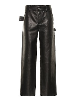 Bottega Veneta leather pants