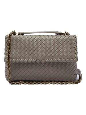 Bottega Veneta Olimpia Intrecciato woven cross-body bag