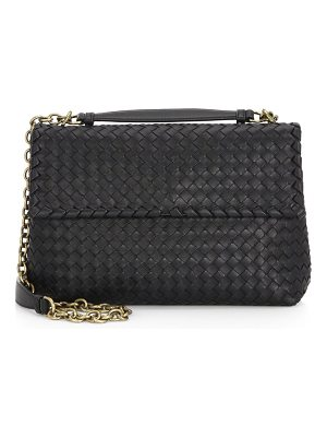 Bottega Veneta olimpia medium leather shoulder bag