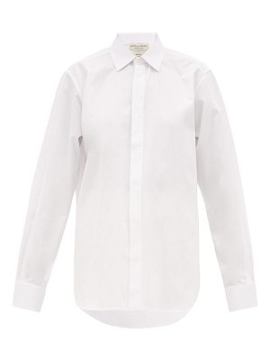 Bottega Veneta oversized cotton poplin shirt