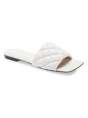 Bottega Veneta padded slide sandal