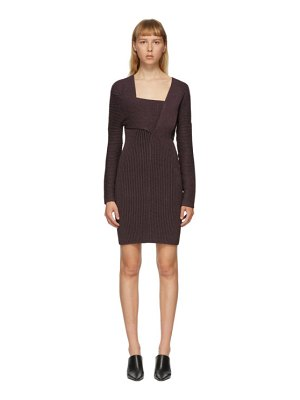 Bottega Veneta purple knit dress