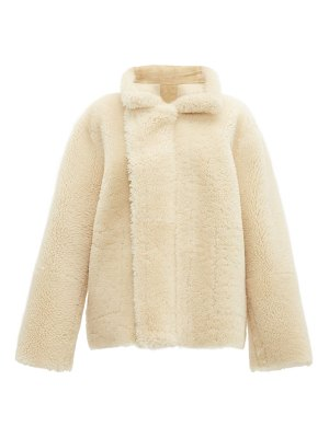 Bottega Veneta reversible shearling and suede jacket