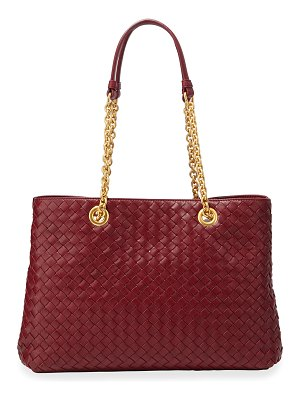 Bottega Veneta Small Intrecciato Double Tote Bag