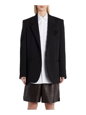 Bottega Veneta two-button mohair jacket