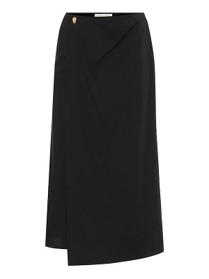 Bottega Veneta wool midi skirt
