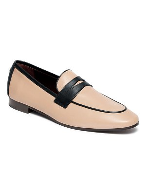 Bougeotte Bicolor Leather Penny Loafers