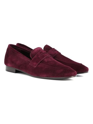 Bougeotte Classic suede loafers