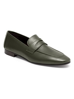 Bougeotte Flaneur Leather Flat Penny Loafers