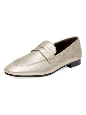 Bougeotte Flaneur Metallic Leather Loafers